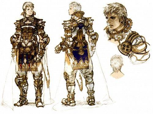 Character Design Final Fantasy Xii : Best images about rasler heios nabradia final fantasy