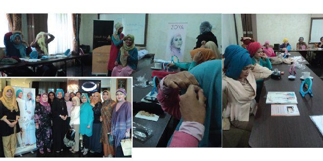 3 Hijab Tutorial Shafira terfavorit.