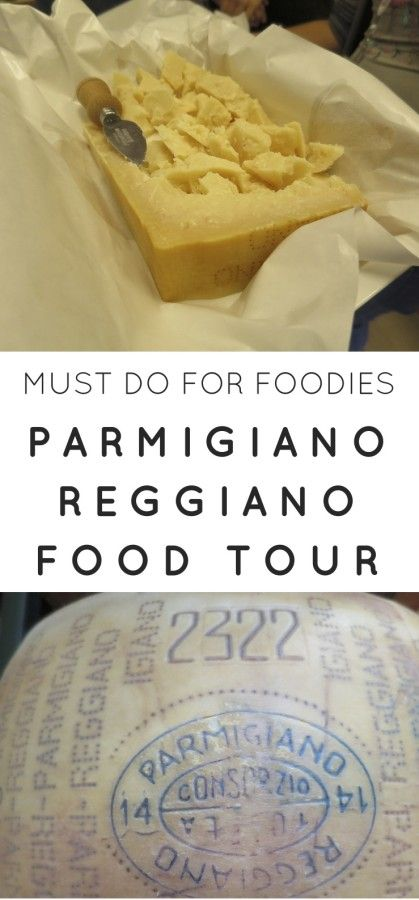 #Parmigiano #Reggiano Food #Tour in #Parma, #Italy is a must do.