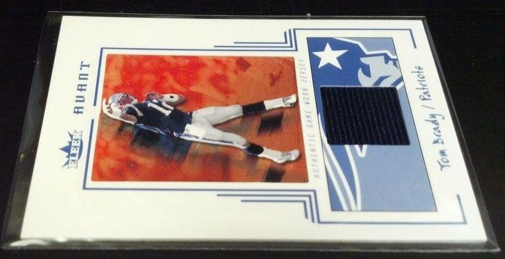 2003 Fleer Avant Materials Blue #2 Tom Brady Team: New England Patriots 090/250 #NewEnglandPatriots