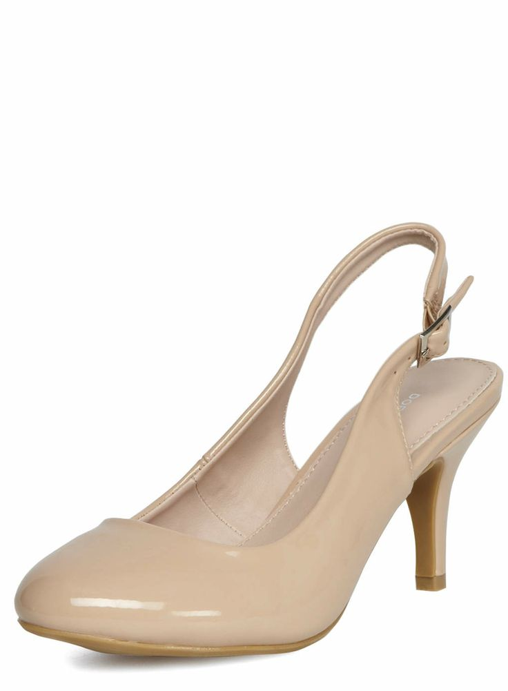 these shoes are to go with the dress! Nude slingback mid court shoes - View All Shoes & Boots - Shoes - Dorothy Perkins