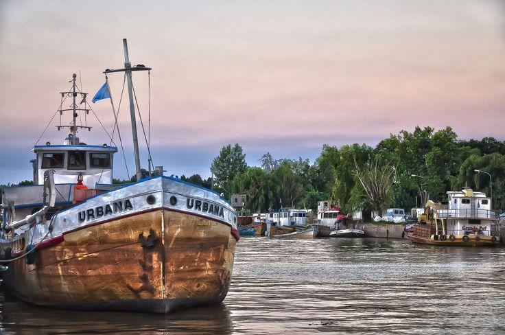 Puerto de Frutos - Tigre - Buenos Aires #argentina #photos #hdr