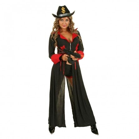 Womens Mama Gangster Costume