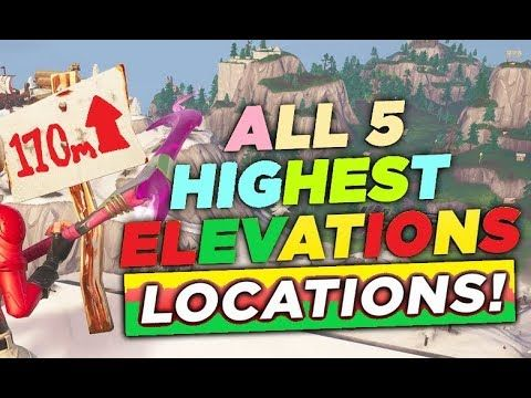 Visit The 5 Highest Elevations On The Island Location Where To