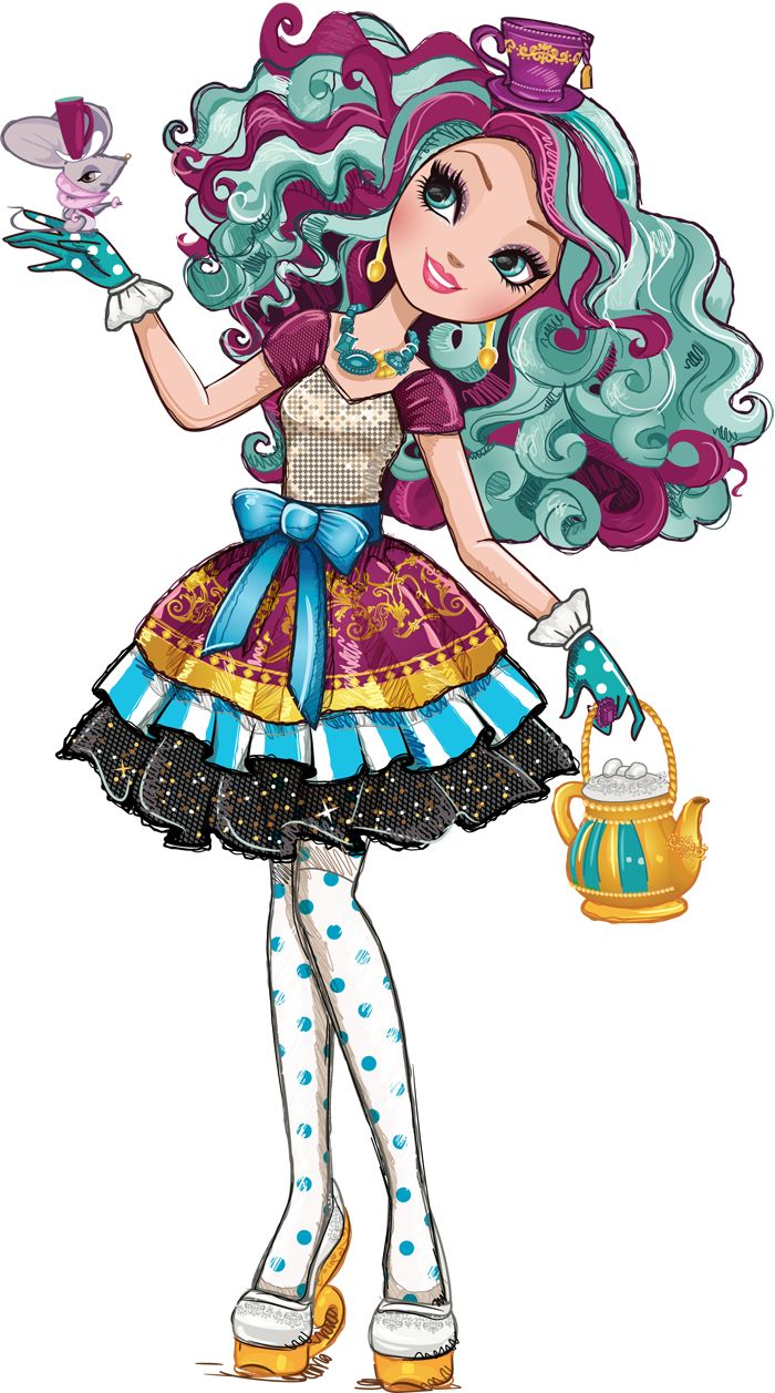 Madeline-Hatter.png (700×1257)   Ever After High Party ...