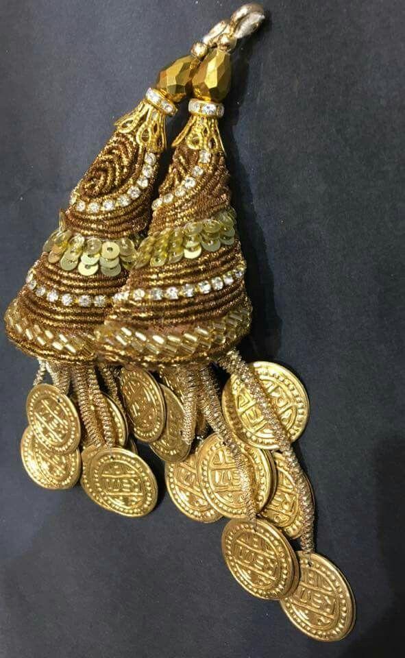 Lovely lehenga tassels inspiration for desicrafts