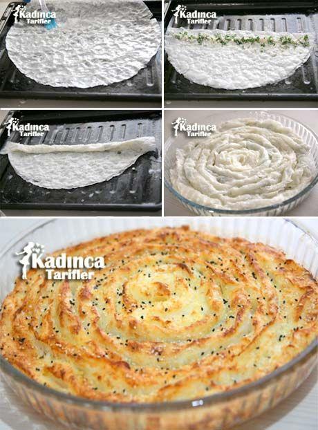 Güllaç Böreği Tarifi Kadincatarifler.com - En Nefis Yemek Tarifleri Sitesi - Oktay Usta
