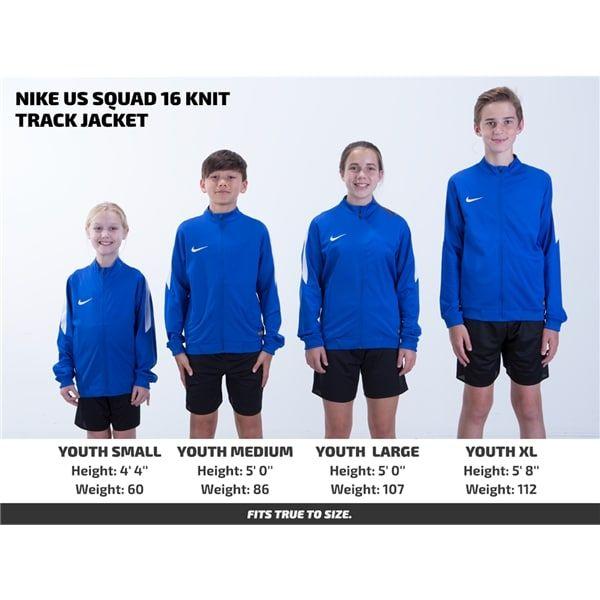 Nike US Squad 16 Knit Track Jacket