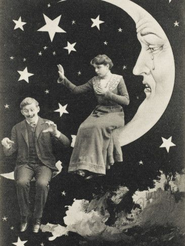 A Lover falls from the sky, causing the Paper Moon to cry!