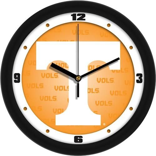Tennessee Volunteers Vols UT Clock Dimensional Design Wall Clock