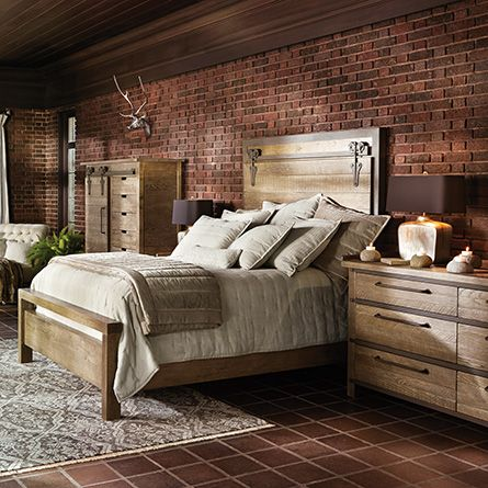 Russell Queen Bed In Natural Suite Dreams Pinterest
