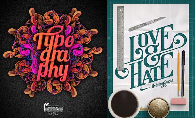 35 Creative Typography Design Master pieces for your inspiration. Follow us www.pinterest.com/webneel