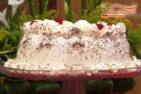 Torta fría de chocolate