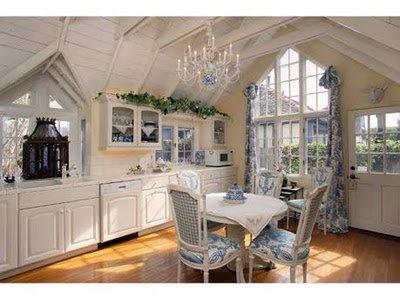 Quaint french country kitchen cottage kitchen style for Quaint kitchen designs