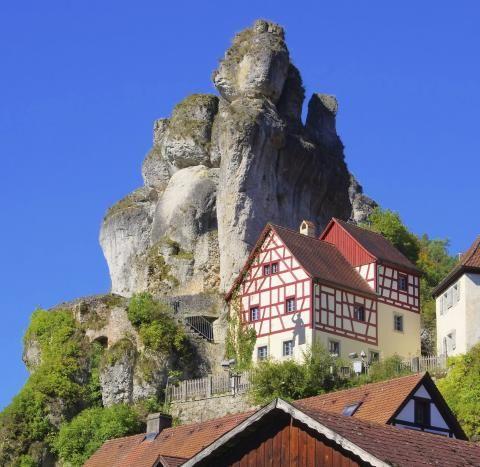 Felsen in Tüchersfeld
