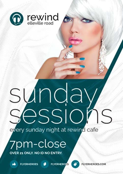 Free Sunday Sessions Flyer PSD Template - http://freepsdflyer.com/free-sunday-sessions-flyer-psd-template/ Enjoy downloading the Free Sunday Sessions Flyer PSD Template created by Flyerheroes!  #Dance, #Disco, #Dj, #EDM, #Electro, #Event, #Horizontal, #Mu