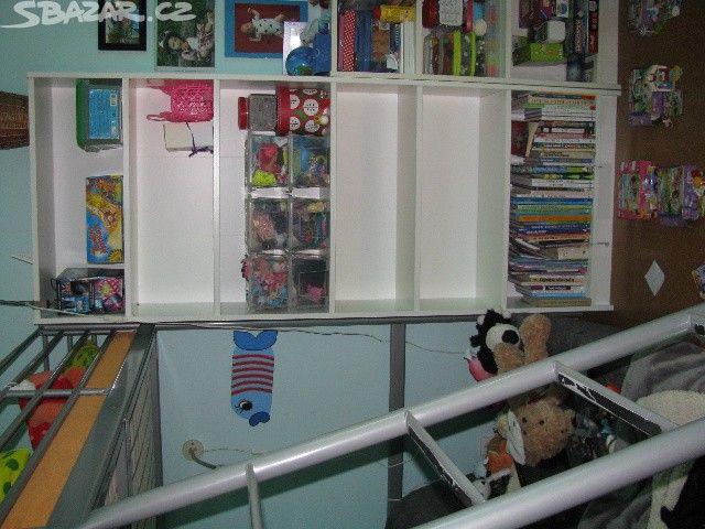 regál knihovna Ikea - obrázek číslo 1