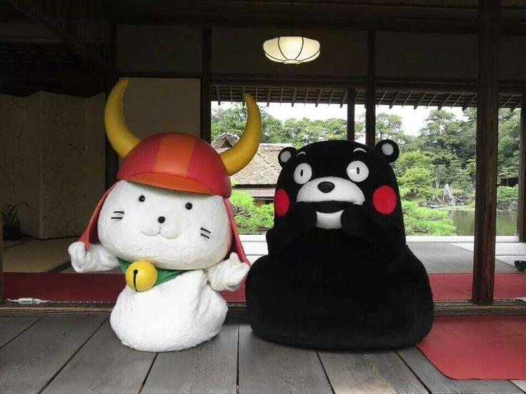 ☆くまモンとひこにゃん☆
