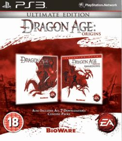 Dragon Age Origins Ultimate Edition PlayStation 3 Cover Art
