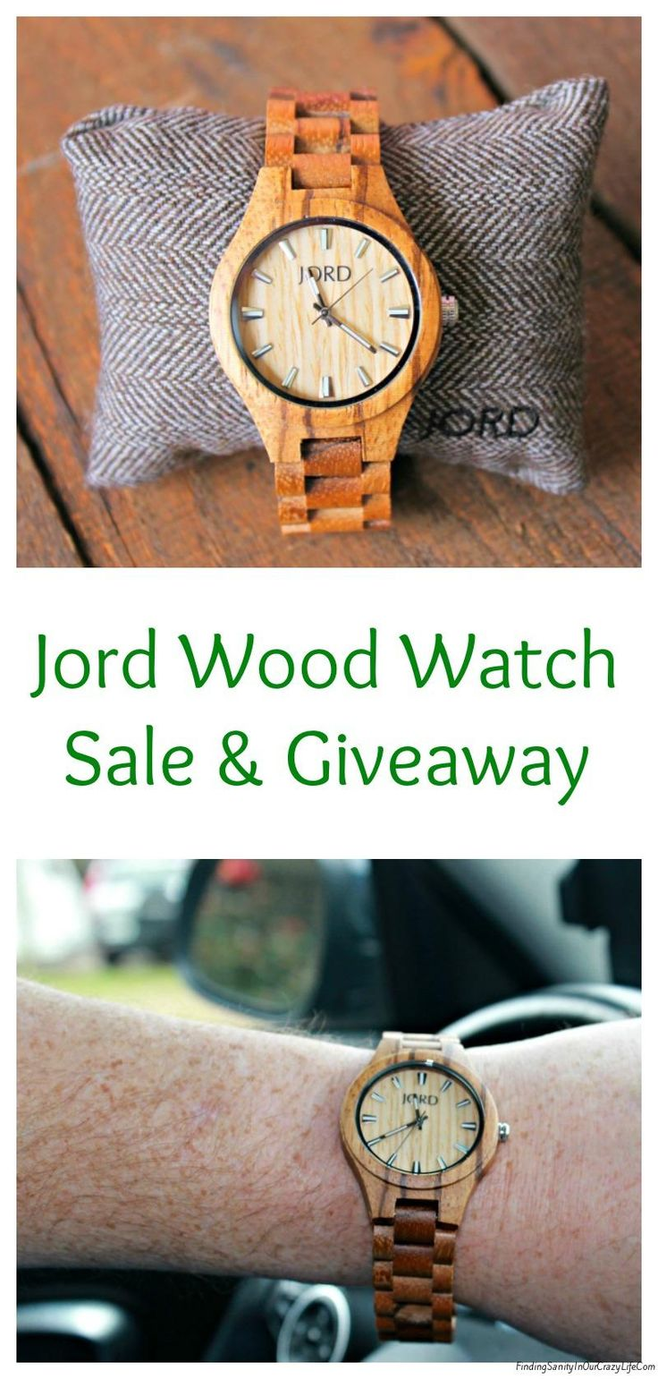Discover the wonders of a Jord Wood Watch and see how you can save 25% & enter to win a $100 to spend on your #JordWoodWatch @woodwatches_com #AD