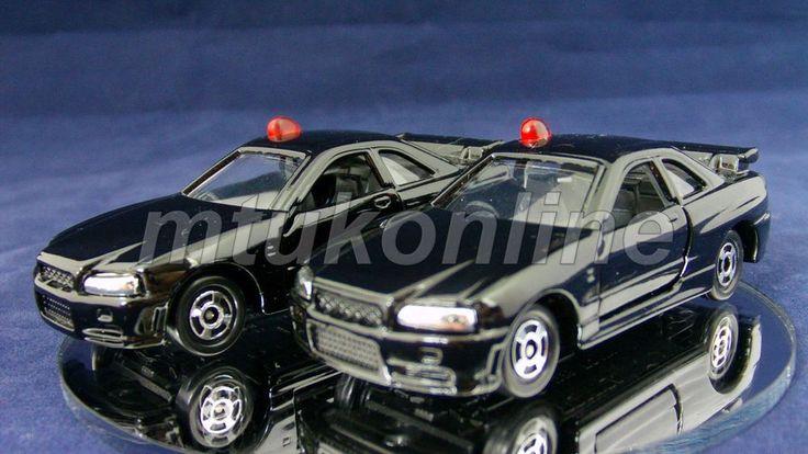 TOMICA 20 NISSAN SKYLINE GTR R34   DX RC SET II 2000   SINGLE SPLIT   AS LOT