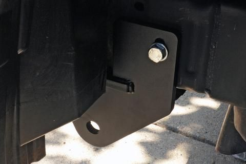 Nissan Xterra Frontier Front Recovery Point Kit - Habitat Offroad