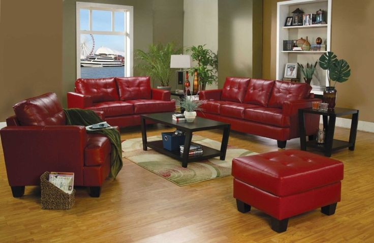 http://www.bebarang.com/gorgeous-cheap-leather-couches/ Gorgeous Cheap Leather Couches : Red Color Cheap Leather Couches