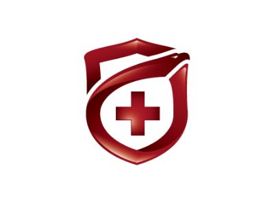 Safety and healthcare logo by Parvulescu Alexandru