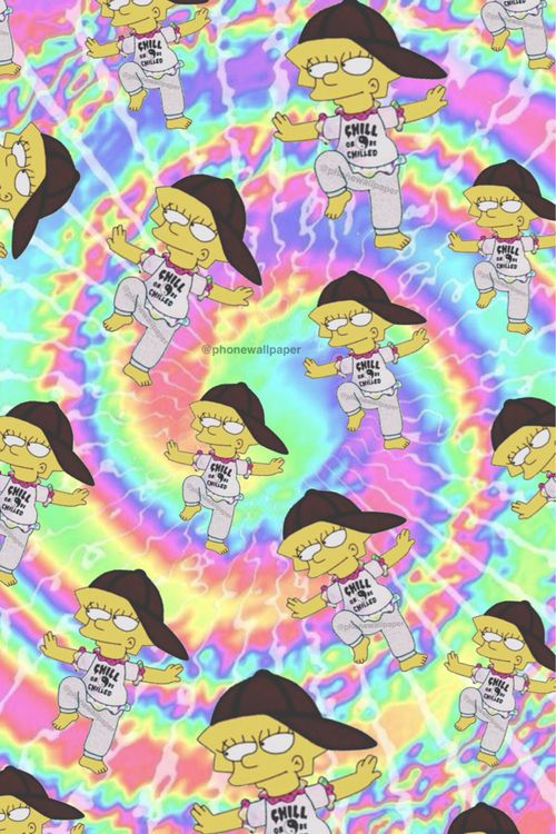 Cute Trendy Wallpapers Qotes Grunge Simpsons Google Search Simpson Wallpaper Iphone