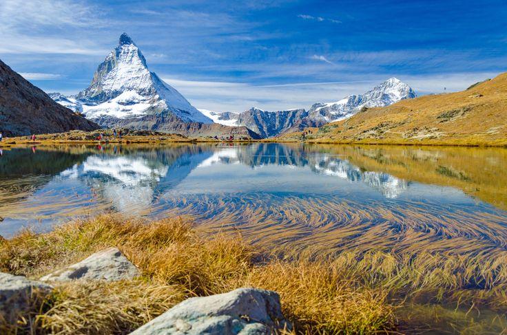 Le Matterhorn en Suisse : Les glaciers les plus spectaculaires - Linternaute