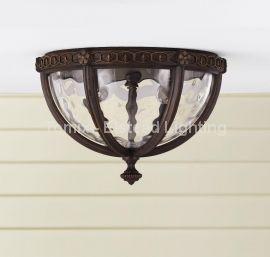 Lampa zewnętrzna, plafon REGENT COURT, kol. ORZECH (FE/REGENTCT/F) - Feiss - Elstead Lighting