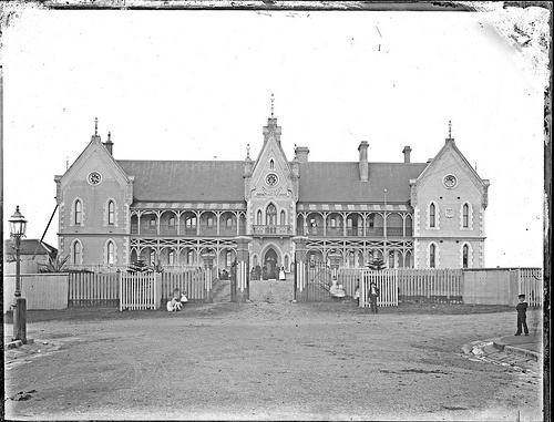 Newcastle Hospital, Newcastle East, NSW, November 1892 | Click on image for more Newcastle NSW scenes from 1892