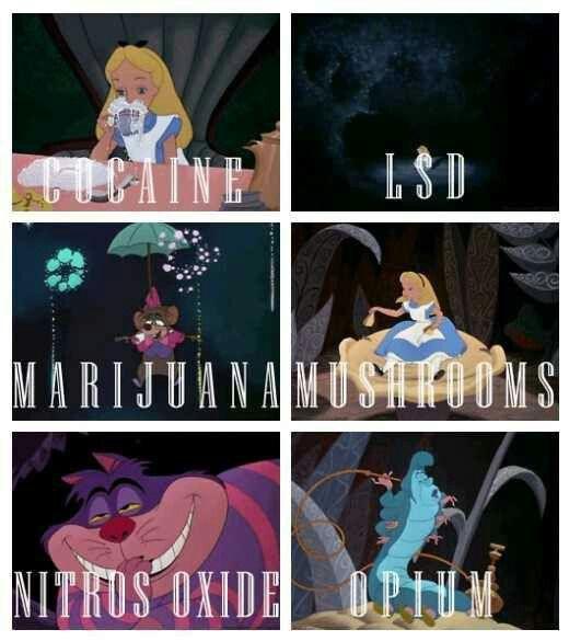 Drugs in #fairytales #drugs #High #SUPERHIGH