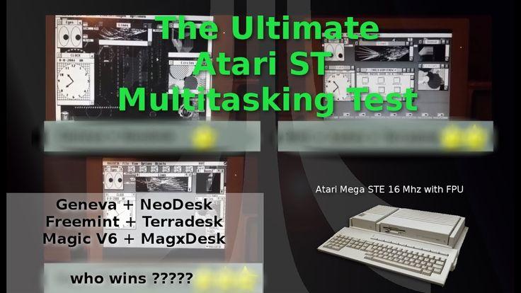 ArduinoPrX : Atari Mega STE (Multitasking) (Test) (Geneva/mint/magic)