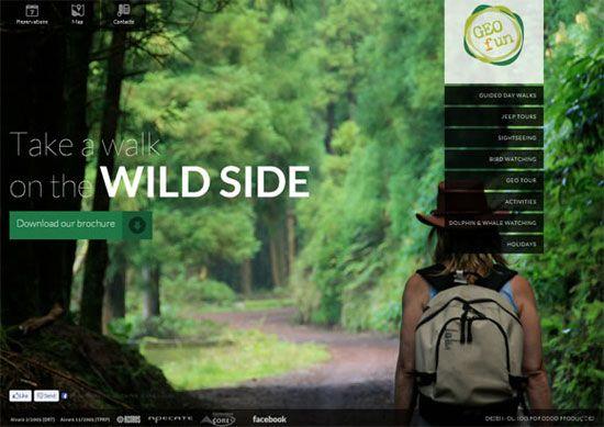 GEO Fun / Webdesign