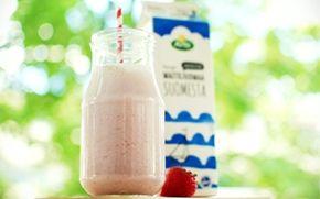 Mansikkamaito / Strawberry milk