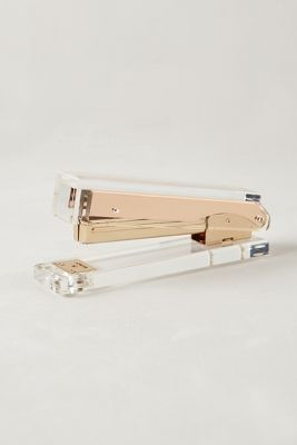Lucite + copper stapler awesomeness!