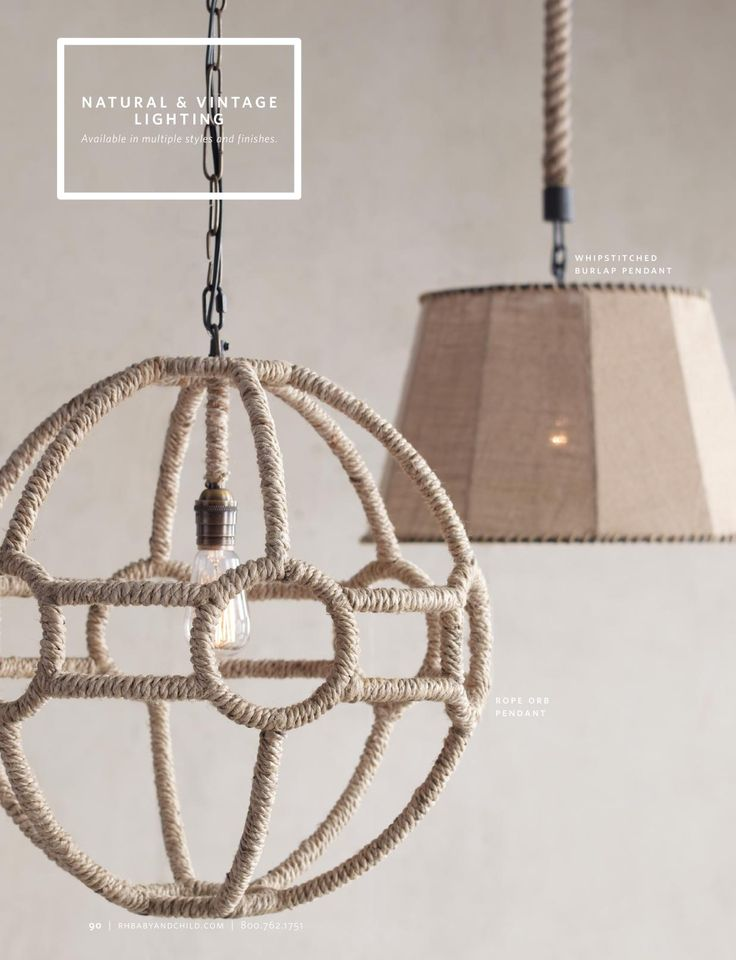 restoration hardware baby lighting. rh baby u0026 childu0027s rope orb pendant naturalreminiscent of the handwoven nets that once held antique glass buoys at sea our displays same restoration hardware lighting