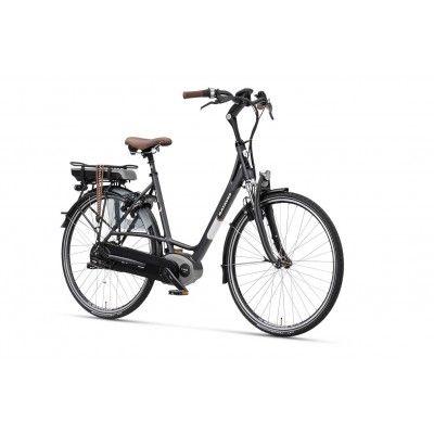 Elektryczny Rower Miejski Damski Batavus  Milano E-go NuVinci/Aut. Wspomaganie sprawi, że jazda tym rowerem naprawdę będzie czystą przyjemnością. http://damelo.pl/damskie-rowery-miejskie-elektryczne/395-elektryczny-rower-miejski-damski-batavus-milano-e-gor.html