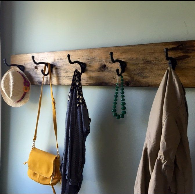 one of a kind extra large coat rack ready to ship farmhouse