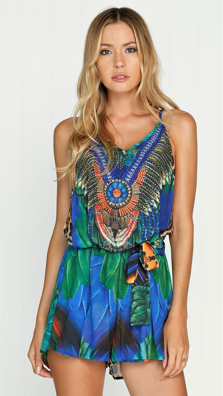 Blue Lagoon Playsuit - preorder