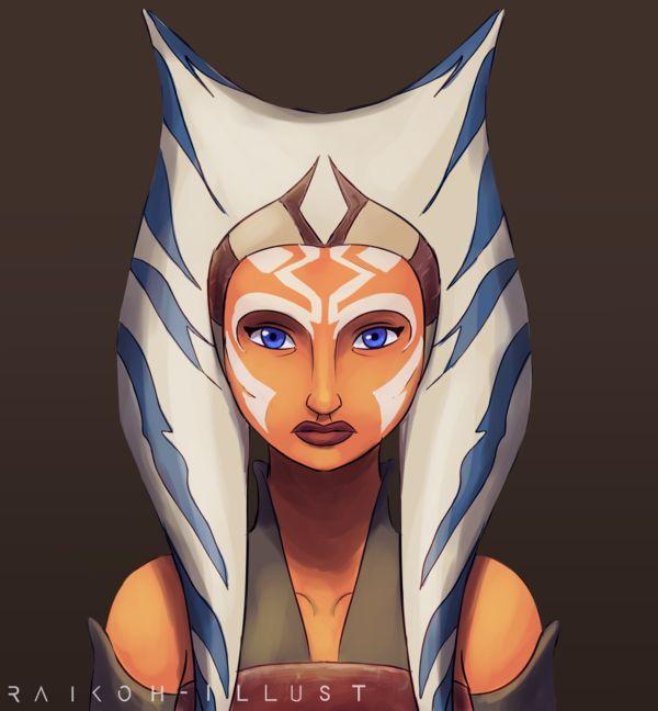 Ahsoka Star Wars Art Characters Forumophelia 1