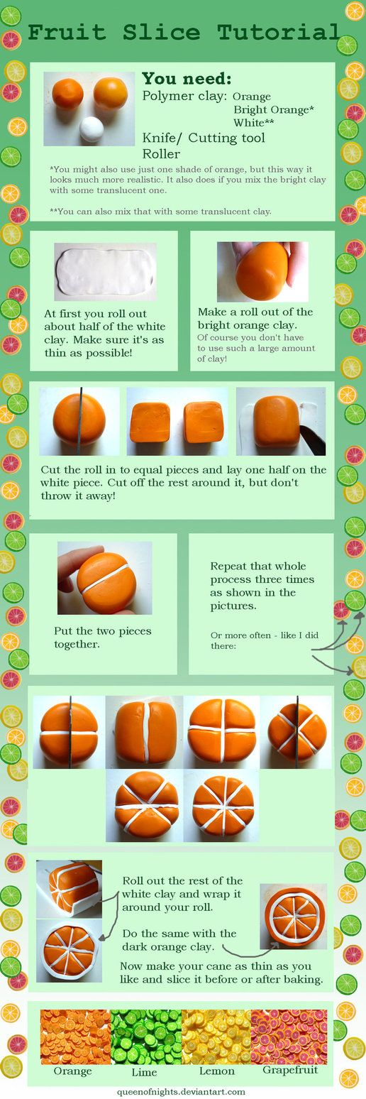 Fruit Slice Tutorial by ~QueEnOfNights on deviantART