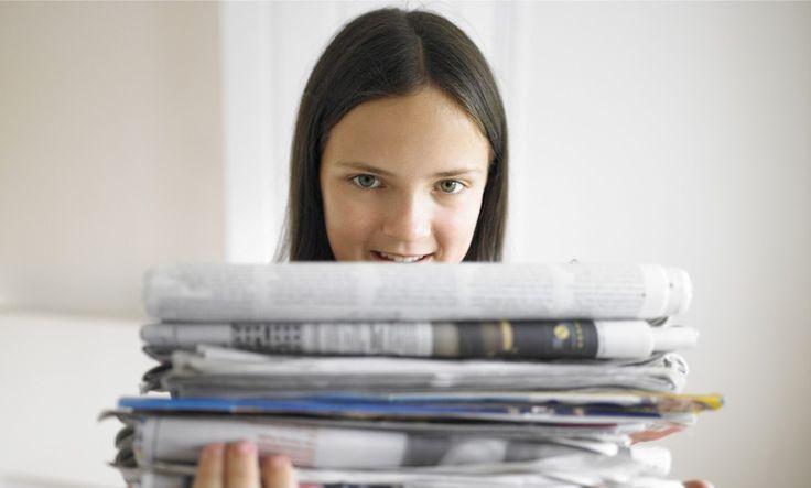 7 cosas que puedes hacer con periódicos viejos