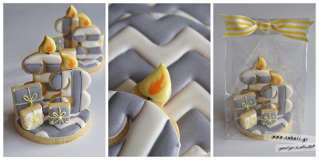 3d birthday cookies