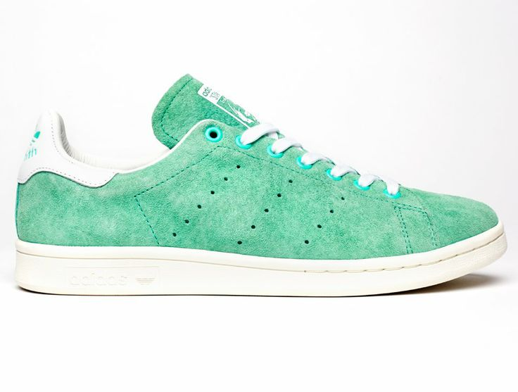 Adidas Stan Smith suede green