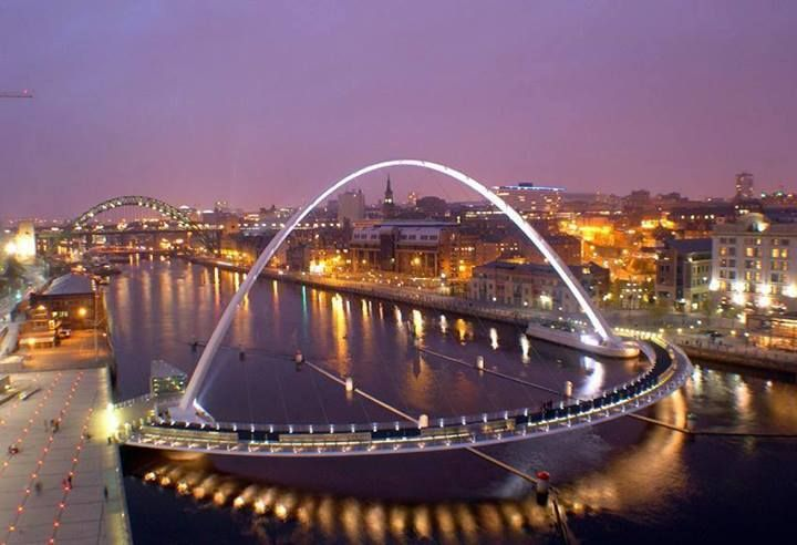 Newcastle Quayside from the Baltic, Newcastle upon Tyne
