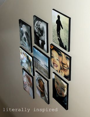 EASY!  putting your photos onto a canvas!