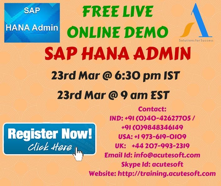 SAP HANA Admin Training Roadmap More Info @    wwwzarantech - sap hana resume