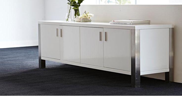 Homemakers Furniture: Living - Buffets & Wine Racks - Phantom Buffet